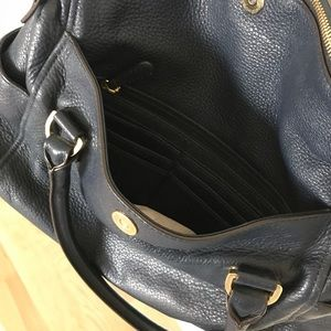 Michael Kors Bags - Michael Kors Weston Crossbody Satchel Navy Blue